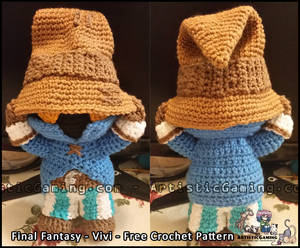 Vivi - Free Crochet Pattern - Final Fantasy