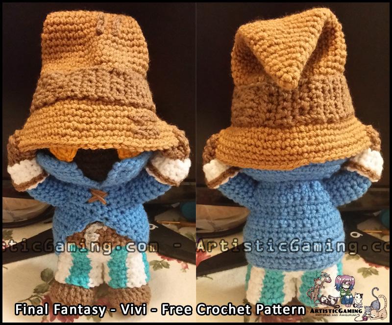 Amigurumi Vivi Free Patterns : Vivi free crochet pattern final fantasy by gamerkirei on deviantart