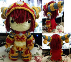 Alexstrasza - Crochet Pattern - World of Warcraft