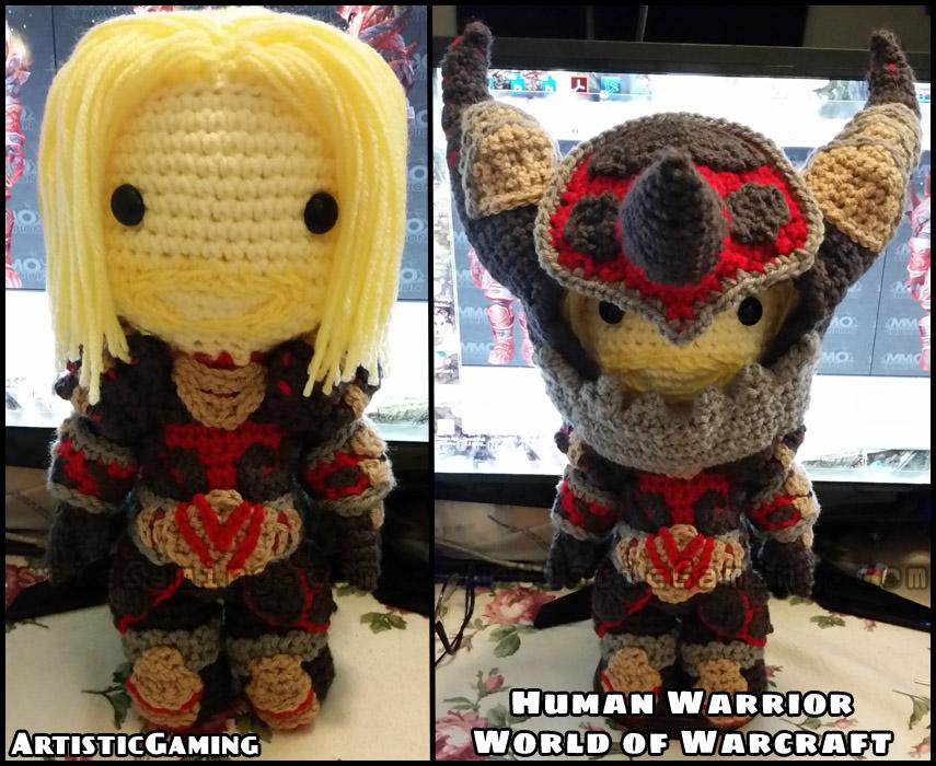Human Warrior - World of Warcraft by GamerKirei