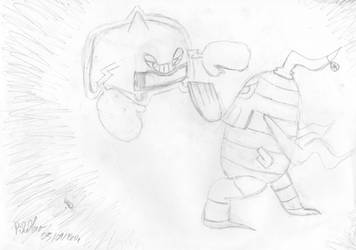 Rotom-Heat VS Nihil the Dusclops by PikaMewFR