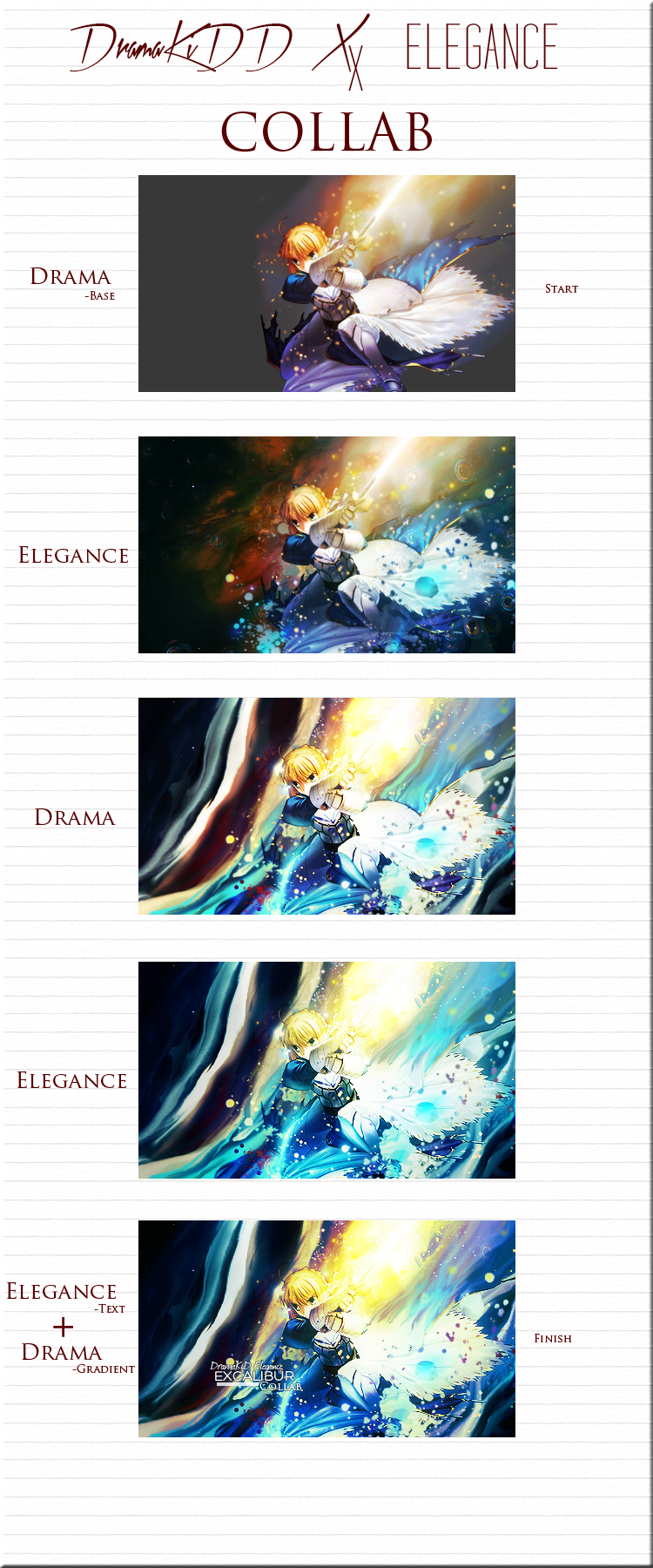 DramaKiDD x Elegance Signature Collab by DramaSama