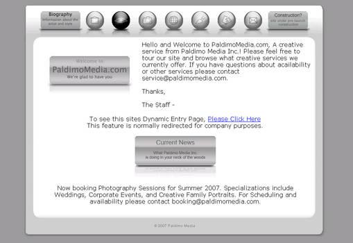 PaldimoMedia.com Design