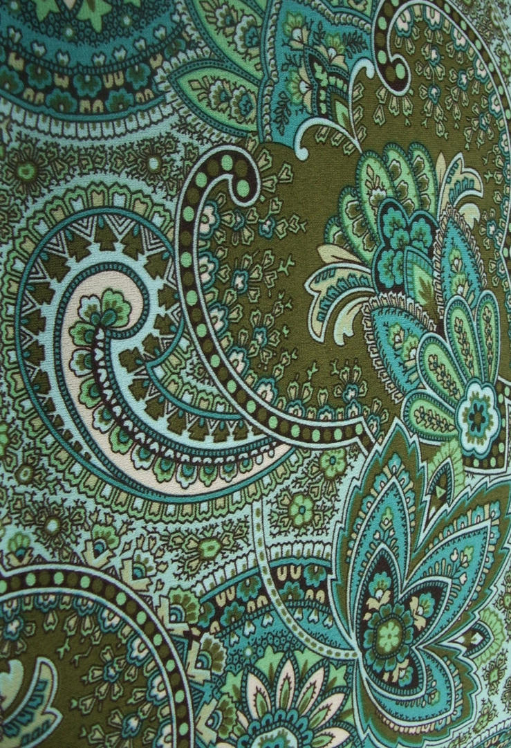Images Green Paisley Desktop Wallpaper