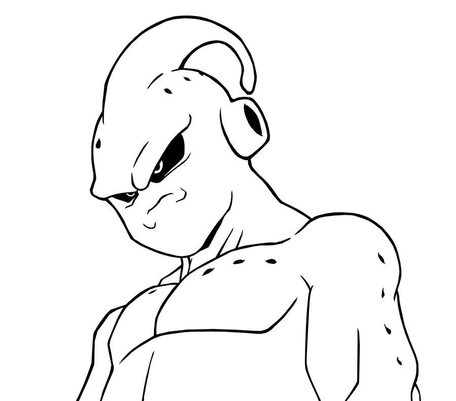 Majin Buu Asorbed Goku