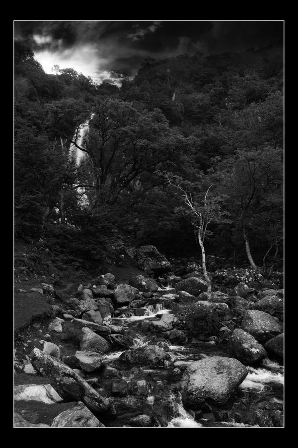 Abergwyngregyn Waterfall by Crutchley29