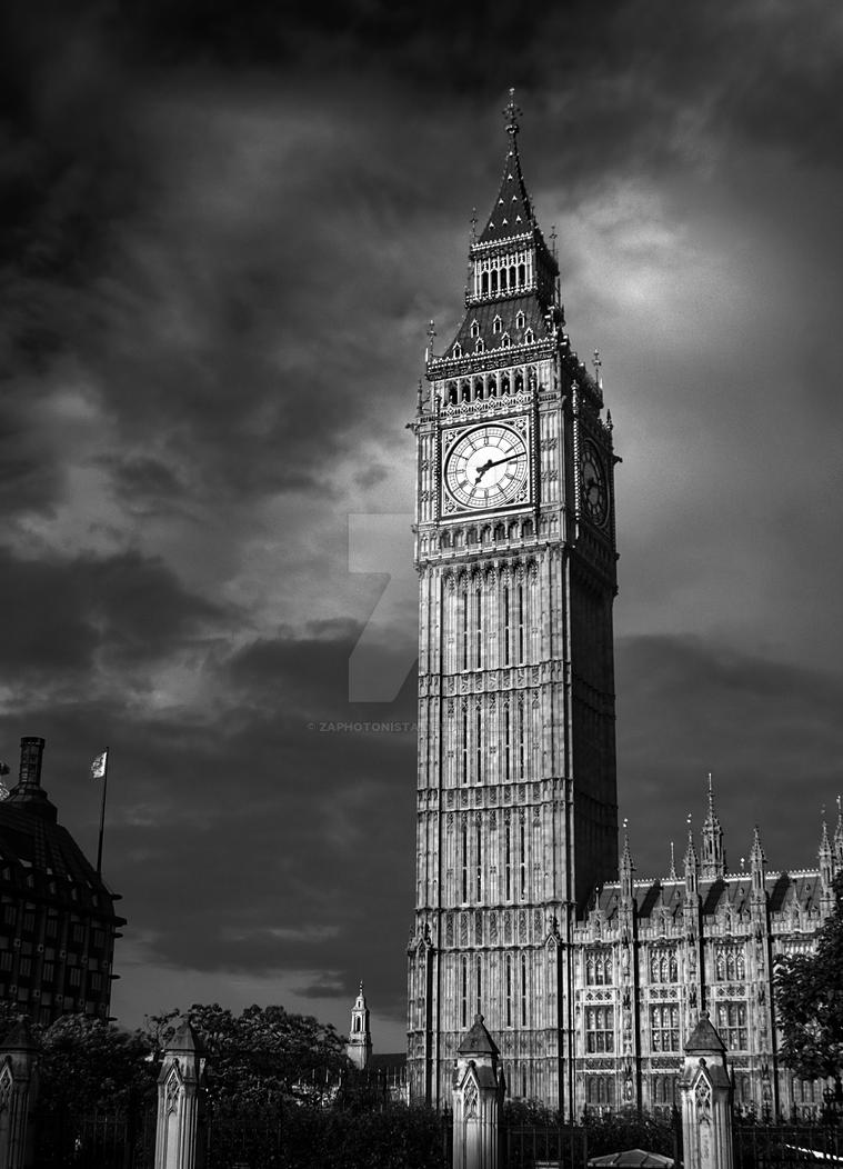 big ben 4 black and white by zaphotonista on deviantart. Black Bedroom Furniture Sets. Home Design Ideas