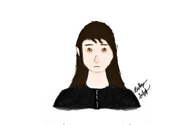 Shadow Nighthunter Portrait Practice by ShadowNighthunter