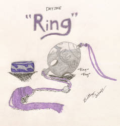 Inktober 2019-Day One: Ring