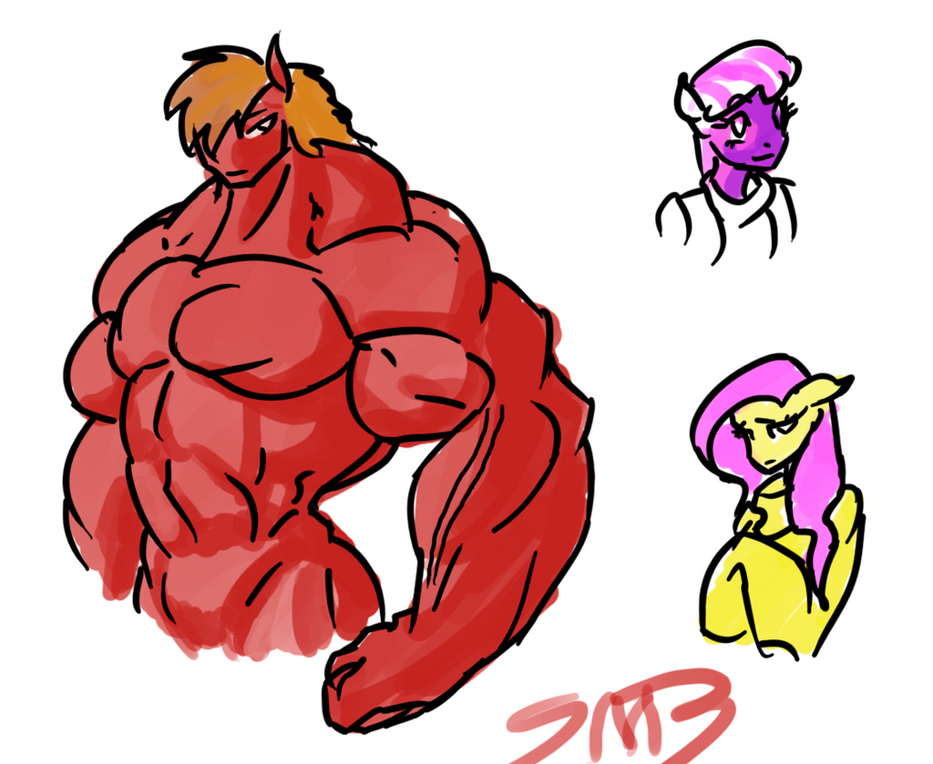 Big macintosh muscle growth