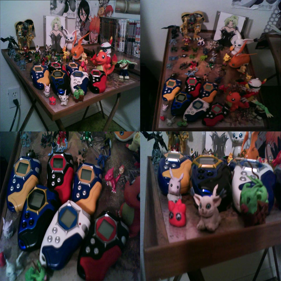 My Current Digimon Collection by lp-slash-queen