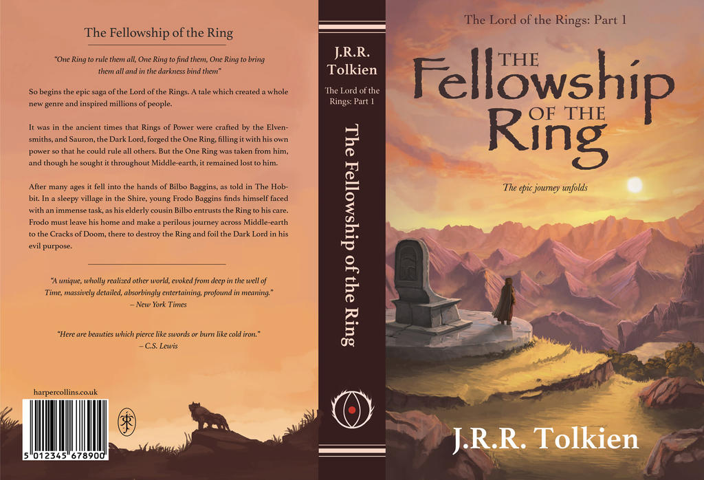a book report of the lord of the rings by jrr tolkein Jrr tolkien (1892-1973), beloved throughout the world as the creator of the hobbit, the lord of the rings, and the silmarillion, was a professor of anglo-saxon at oxford, a fellow of pembroke college, and a fellow of merton college until his retirement in 1959 his chief interest was in the linguistic aspects of the early english written.