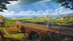 The Floodlands | Fantasy Landscape
