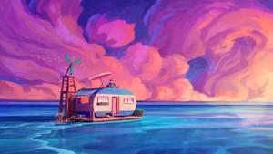 A Surreal Ocean