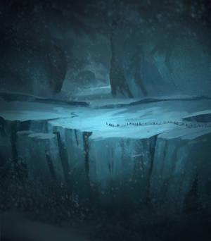 12/50 - Flight of the Noldor through Helcaraxe