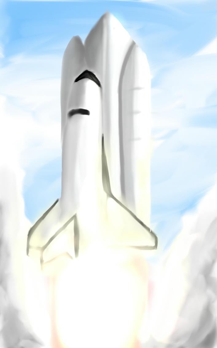 Nasa's Space Shuttle by hakimmochi on DeviantArt