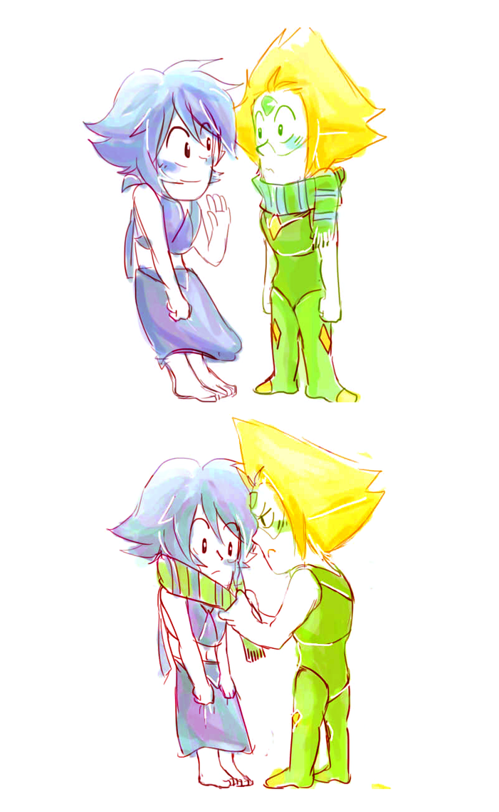 Peridot can gay for every lapis. XD