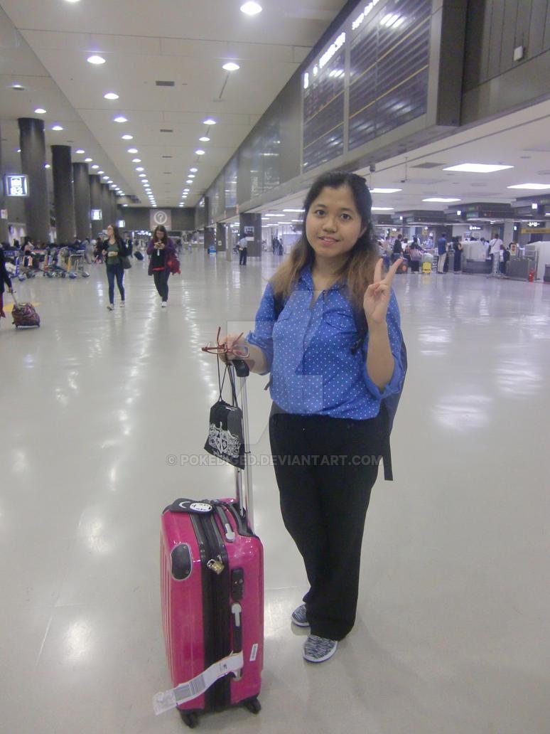 Landed to Narita Airport - Tokyo(Japan) by pokediged