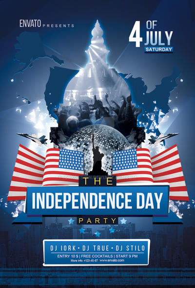 Independence Day Flyer Psd By Iorkdesign On Deviantart