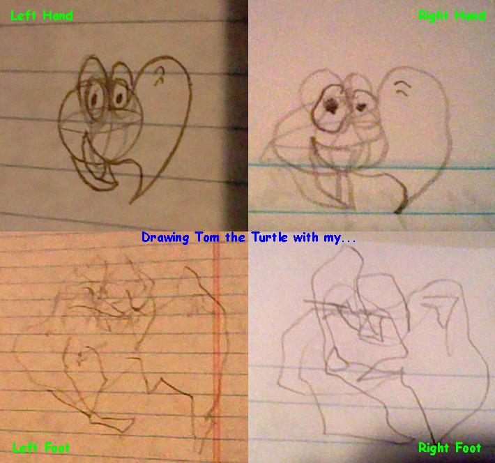 Tetra-Tom Drawings by Al-Guien