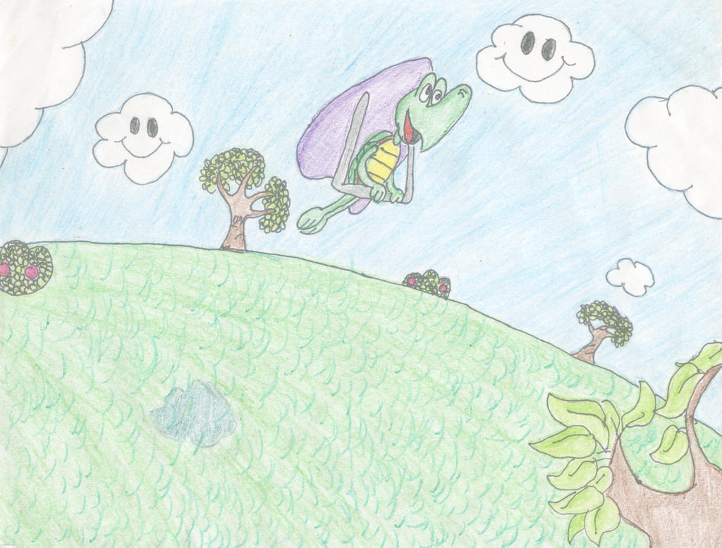 When Turtles Fly by Al-Guien
