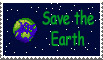 Save the Earth stamp by crookshank