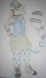 Coloured Sketch by Ki-wolf