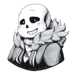 Sans, Pencil and Ink