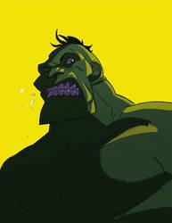 hulk by rustypixel