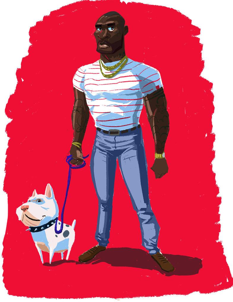 Dude N Dog by rustypixel