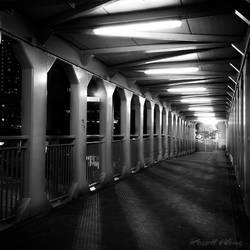 Sky Bridge by Russellbk