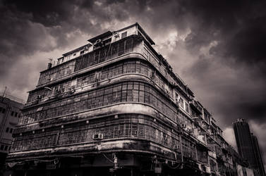 Old Building by Russellbk
