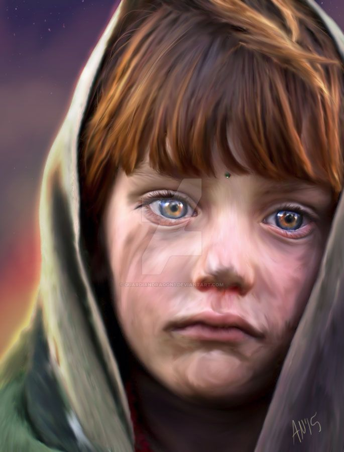 Afghanistan's Child by GuardianDragon1