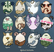 OPEN Mythical Hatchables