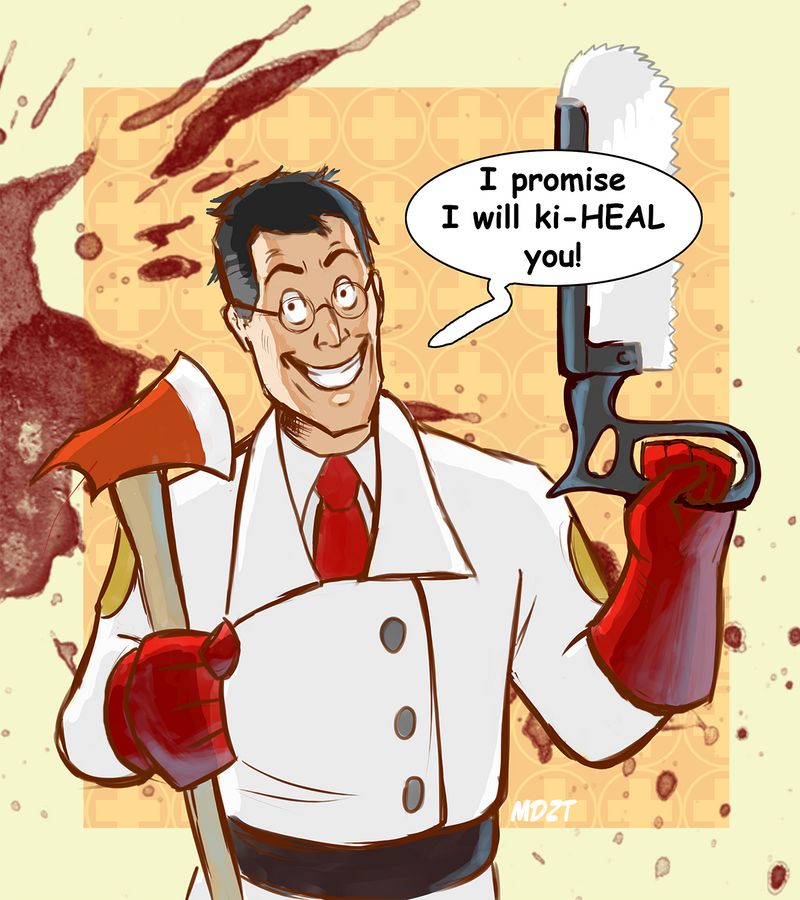 Team Fortress 2 - Medic by MaryDec on DeviantArt