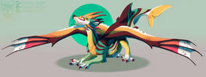 Stretching out -COMMISSION-