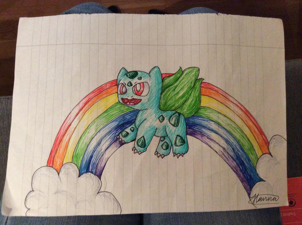 Bulbasaur! Use fly! by iHannaGirl