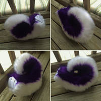 Purple Husky Tail for TaffyBrightpaws