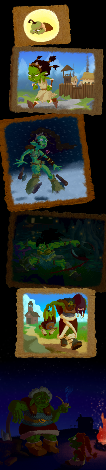 Lifetime challenge: Uschi by WizardWannabe