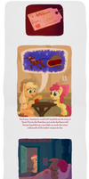 To Applebloom, From Santa Hooves page 1