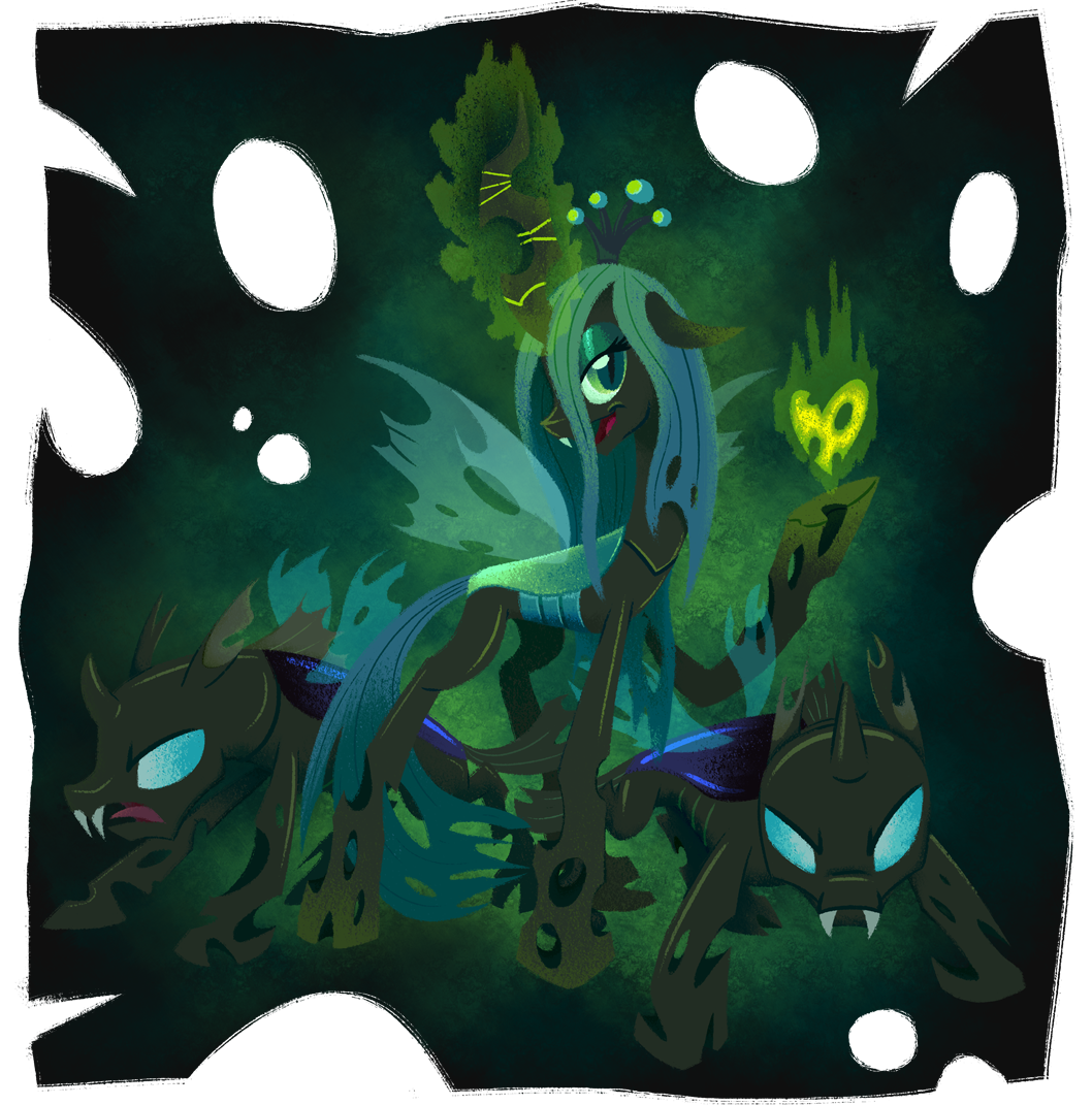 Chrysalis, Queen of the Changelings by WizardWannabe