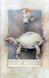 Working Elephant by anubis46