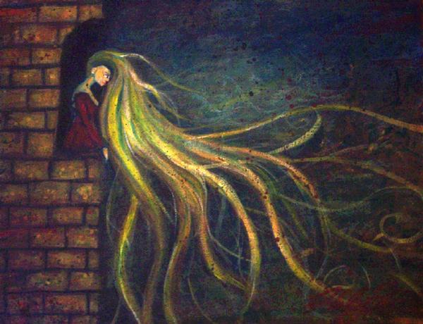 Rapunzel, Let Down Your Hair.