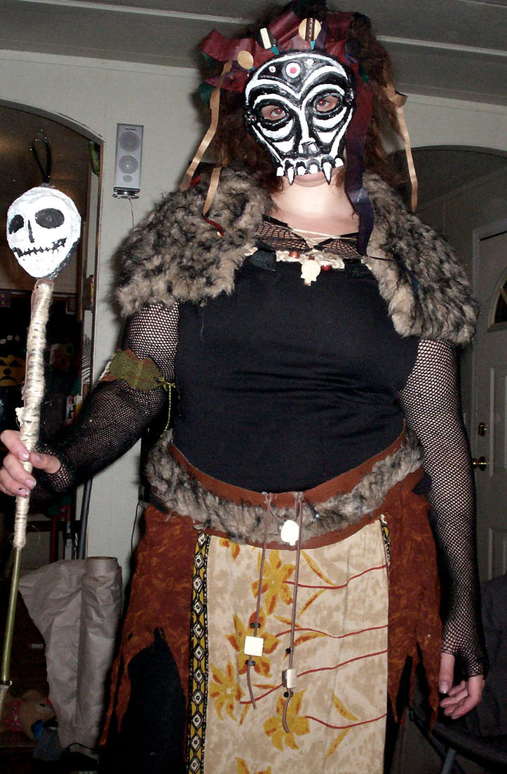 Voodoo Witch Doctor Costume - More information
