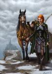 Iaondrin, the elf adventurer