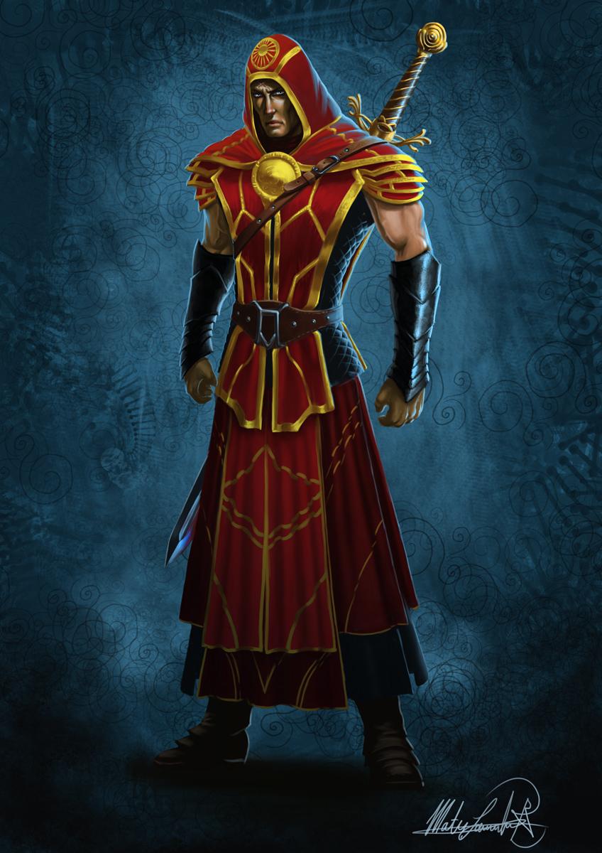 Hannibal, the elven Avenger by MatesLaurentiu