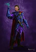 Beric the Wizard by MatesLaurentiu