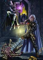 Arclight and Gideon by MatesLaurentiu