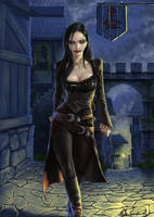 Elenuial vampire by MatesLaurentiu