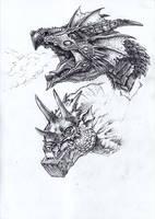 Dragons by MatesLaurentiu